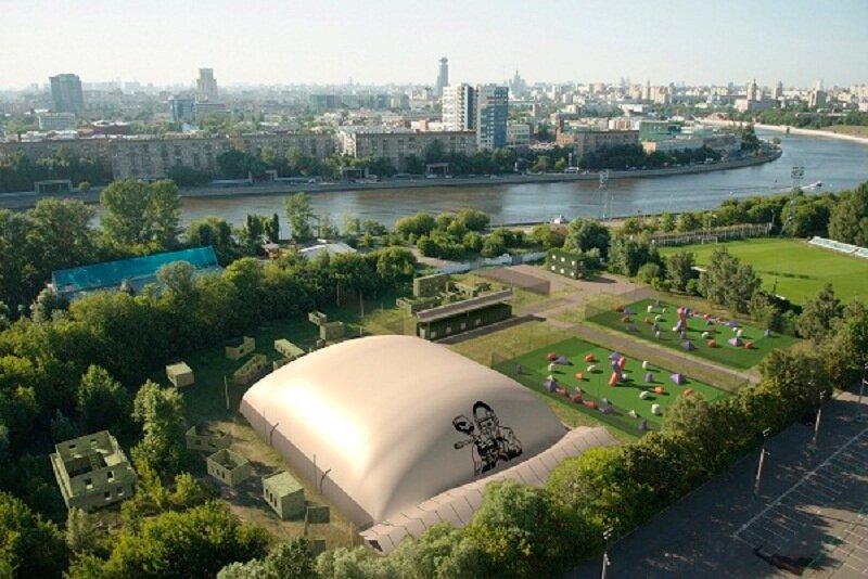 спортивно-развлекательный центр — Пейнтбольный дворец Арена — Москва, фото №1