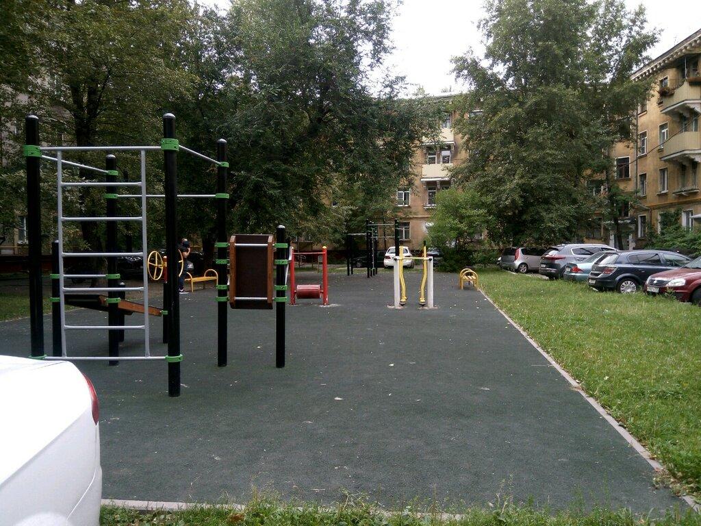 sports activity location — Спортивная площадка — Moscow, фото №2