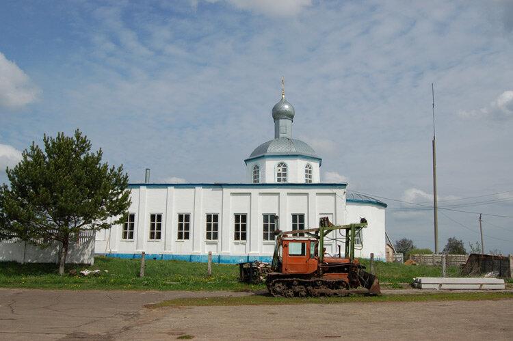 первые фотография села знаменское спускается