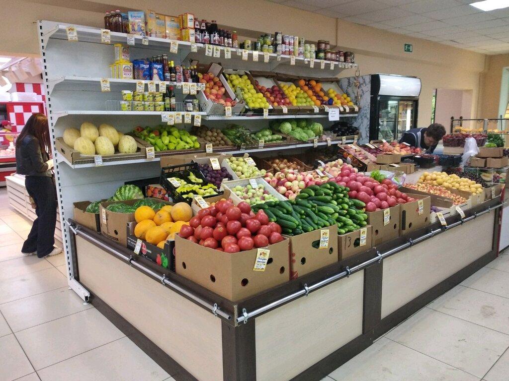 Фото овощного отдела