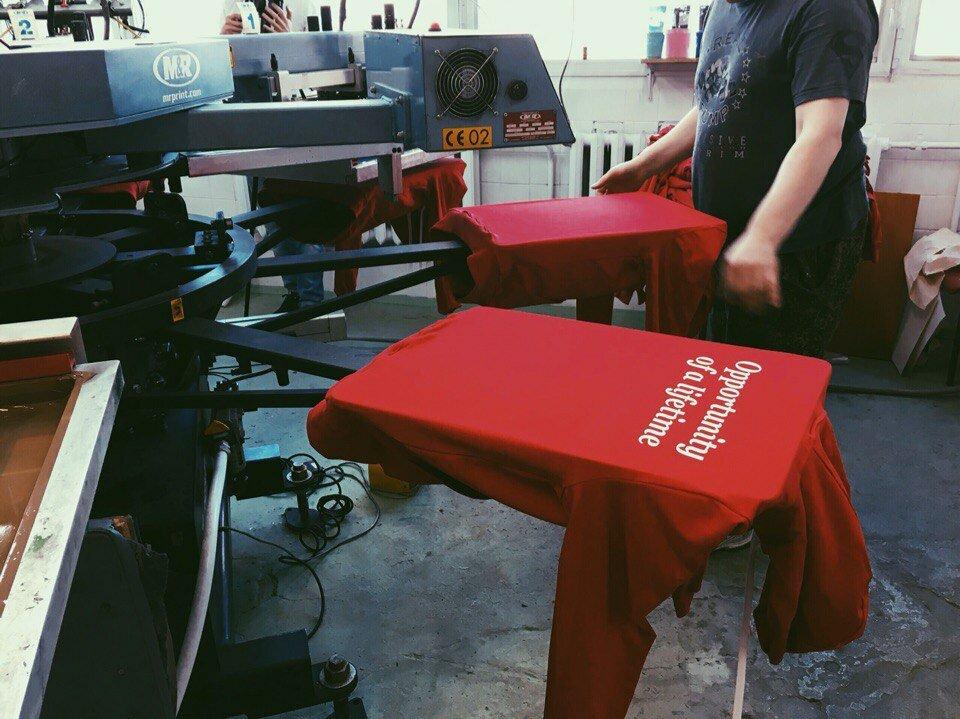 печать на футболках — Uni-wear — Москва, фото №2