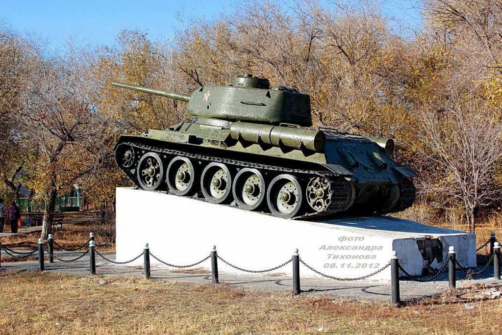 после фото памятника танка в кургане тяга