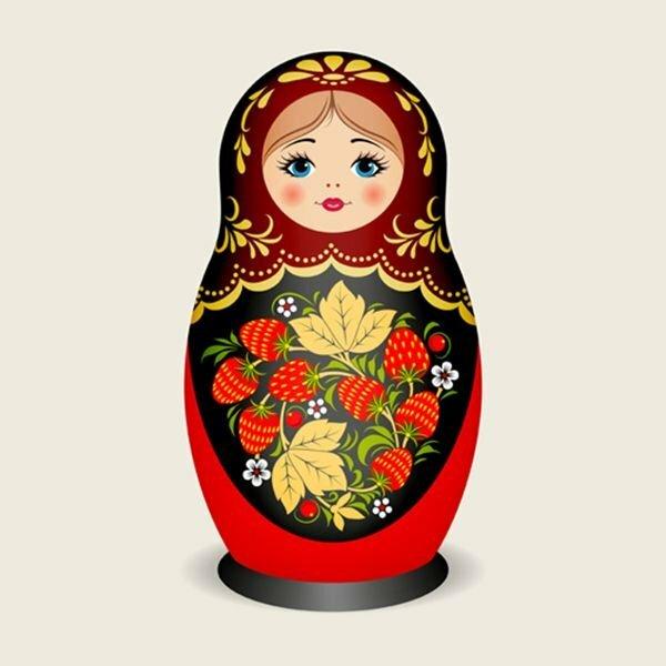 Картинки матрешки русской, лет мужчине открытка