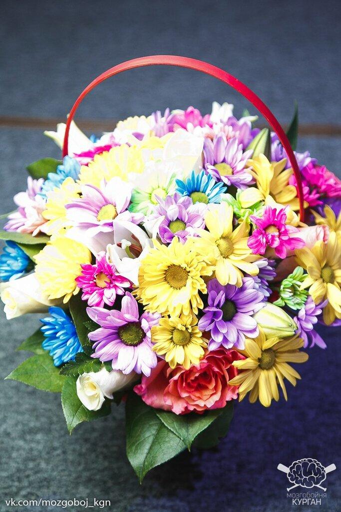 Купить цветы в кургане дешево, доставки
