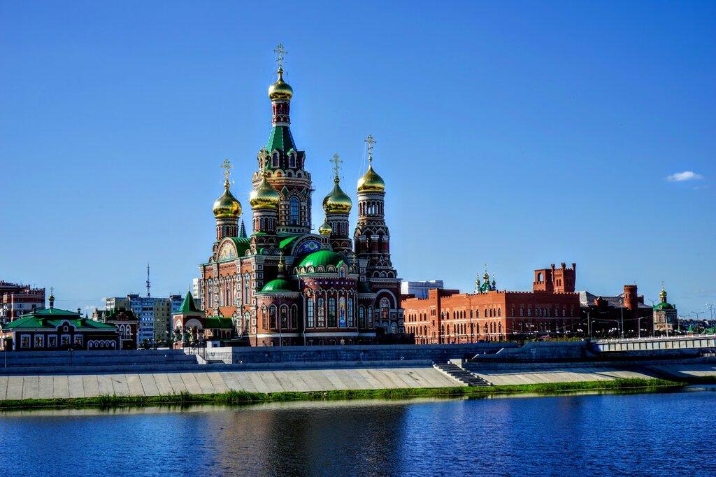 православный храм — Кафедральный собор Благовещения Пресвятой Богородицы — Йошкар-Ола, фото №6