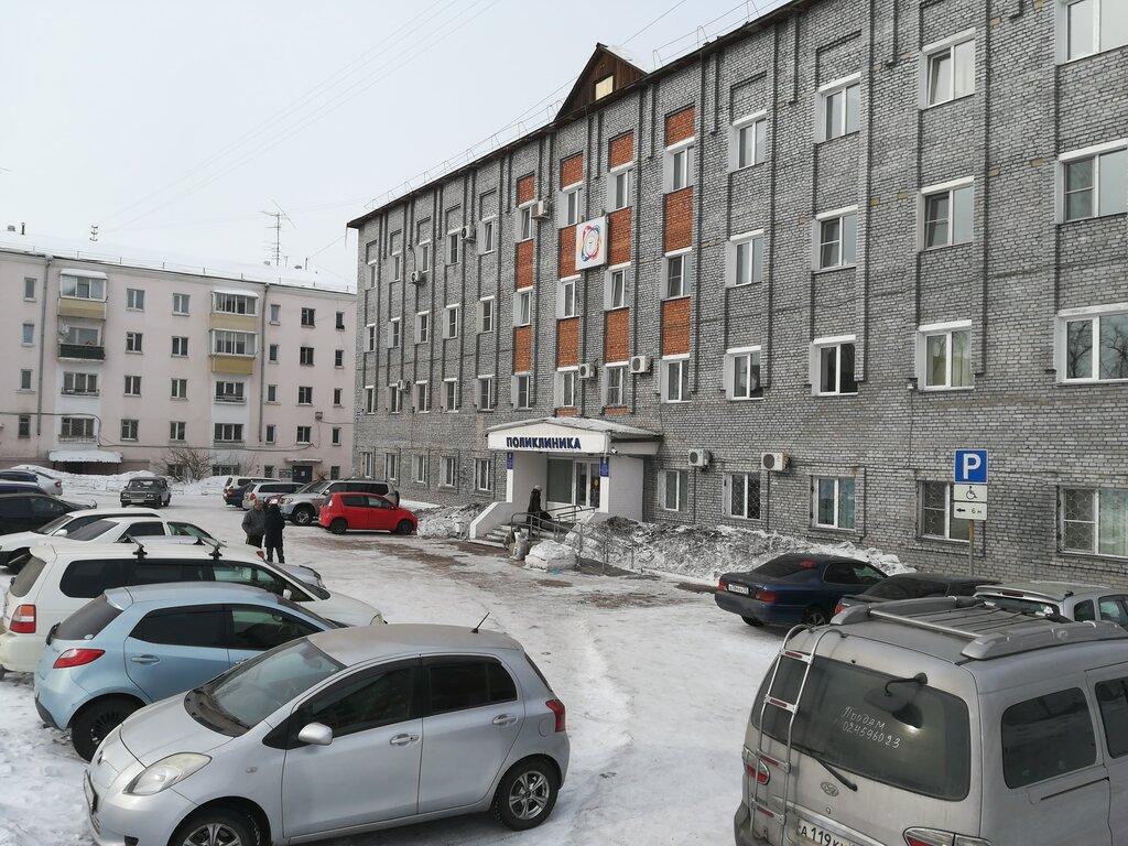 поликлиника для взрослых — Городская поликлиника № 5 — Улан-Удэ, фото №3