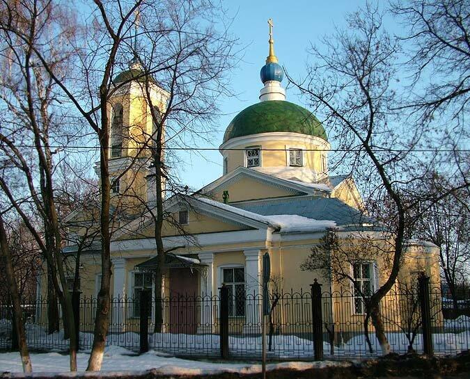 Фотография церкви в болшево московской области