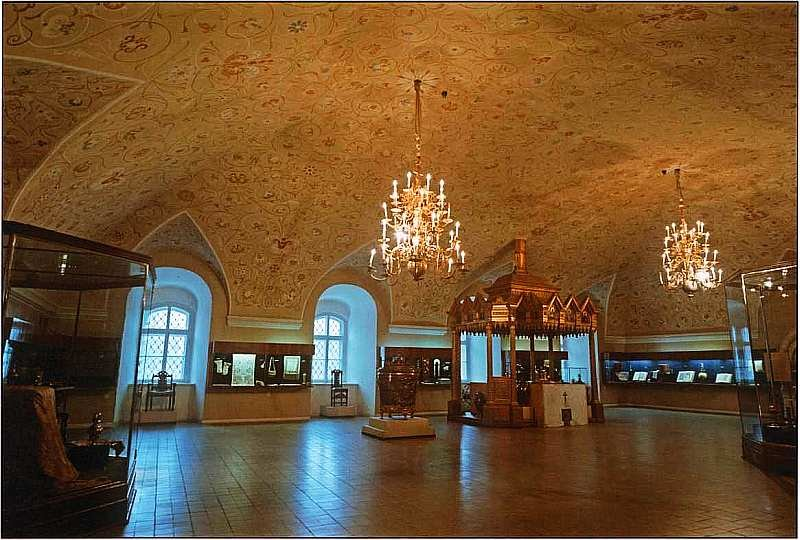 музей — Патриаршие палаты — Москва, фото №3