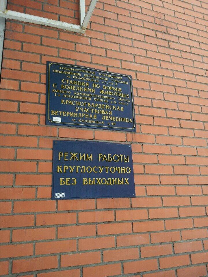 ветеринарная клиника — Красногвардейская участковая ветеринарная лечебница СББЖ ЮАО г. Москвы — Москва, фото №3