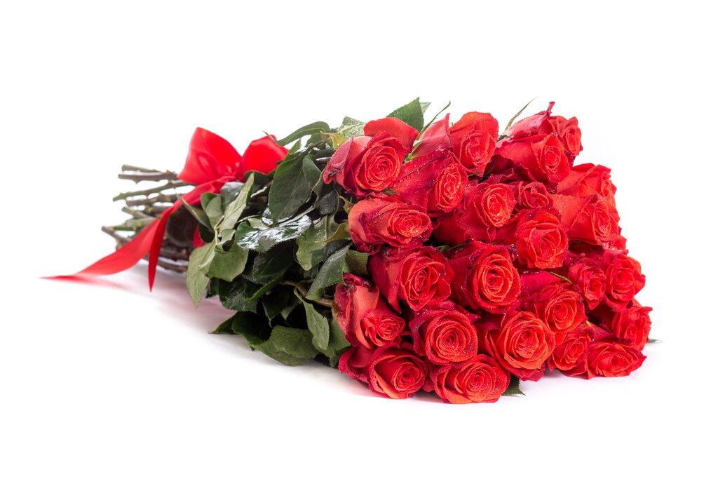Букет роз лежит фото только