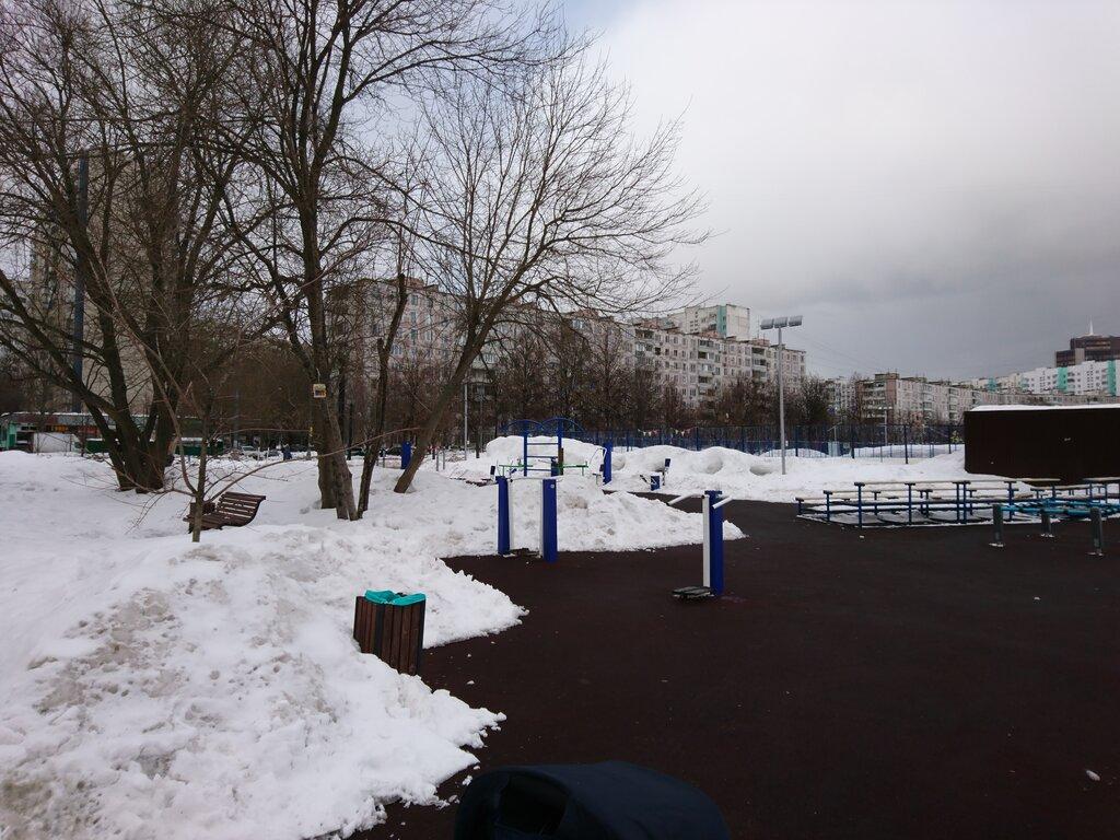 sports activity location — Спортплощадка, воркаут — Moscow, фото №5