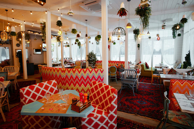 ресторан — Чайхана Чабрец — Санкт-Петербург, фото №4