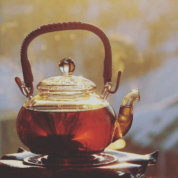 Открытка гиф чай