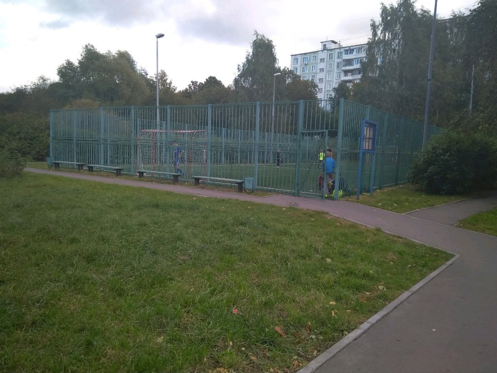 sports activity location — Спортивная площадка — Moscow, фото №8