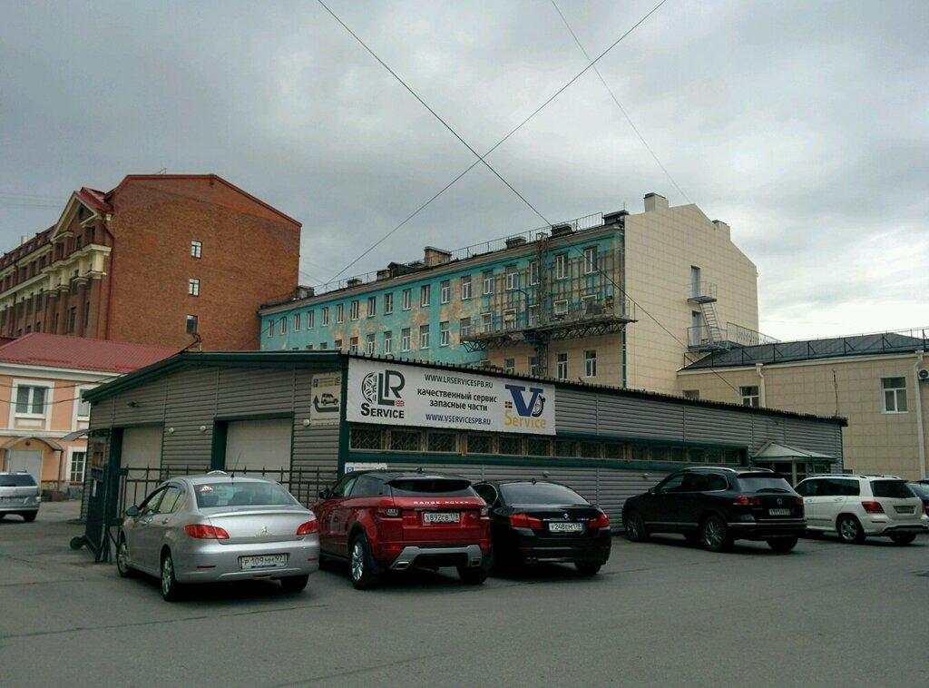 автосервис, автотехцентр — Land Rover Сервис — Санкт-Петербург, фото №1
