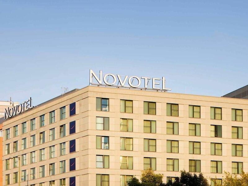 Гостиница Novotel Berlin Mitte