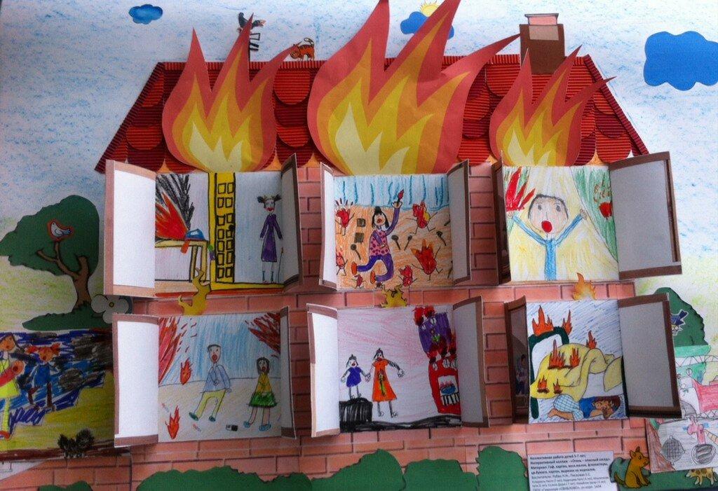 Детские поделки на пожарную тему картинки