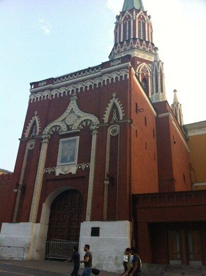 достопримечательность — Никольская башня — Москва, фото №8