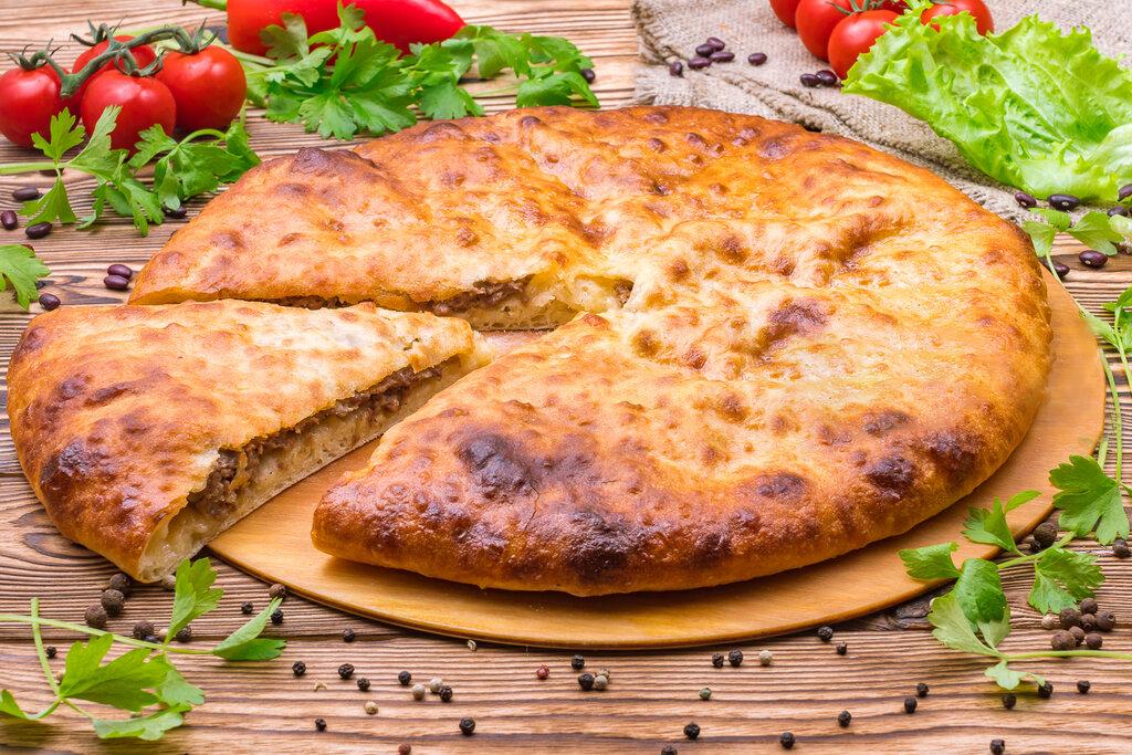 этот осетинский пирог с мясом картинки будет очень простым
