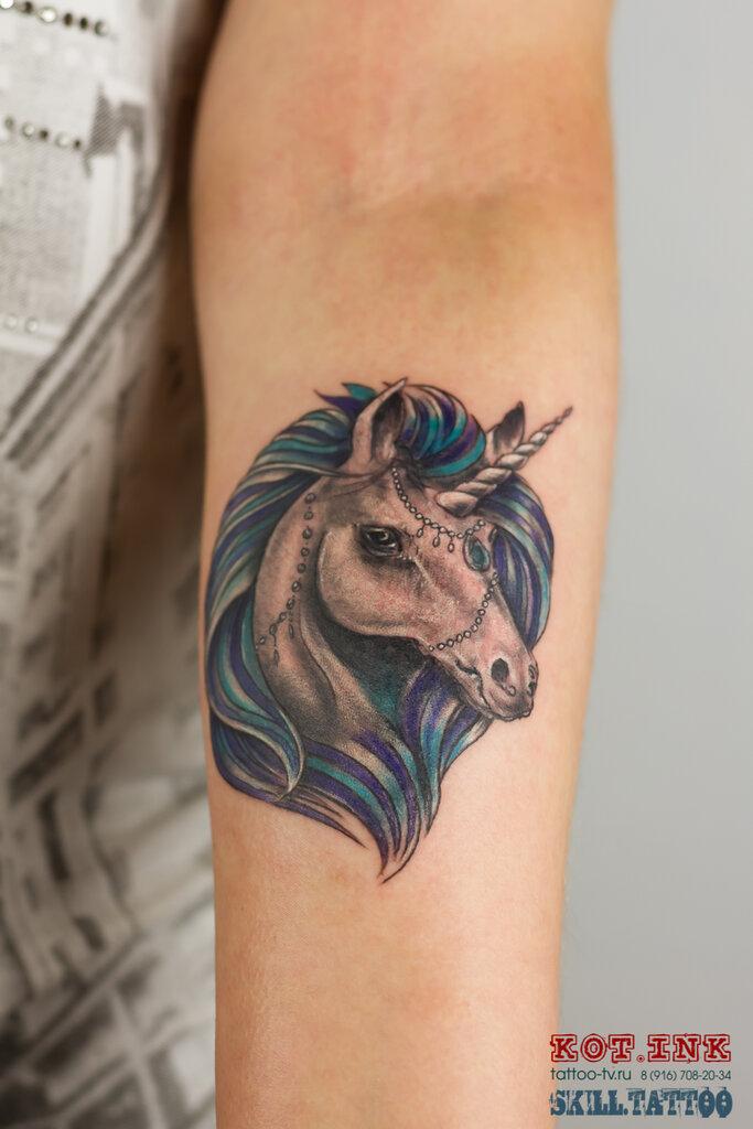 тату-салон — Tattoo Kot. Ink — Солнечногорск, фото №5