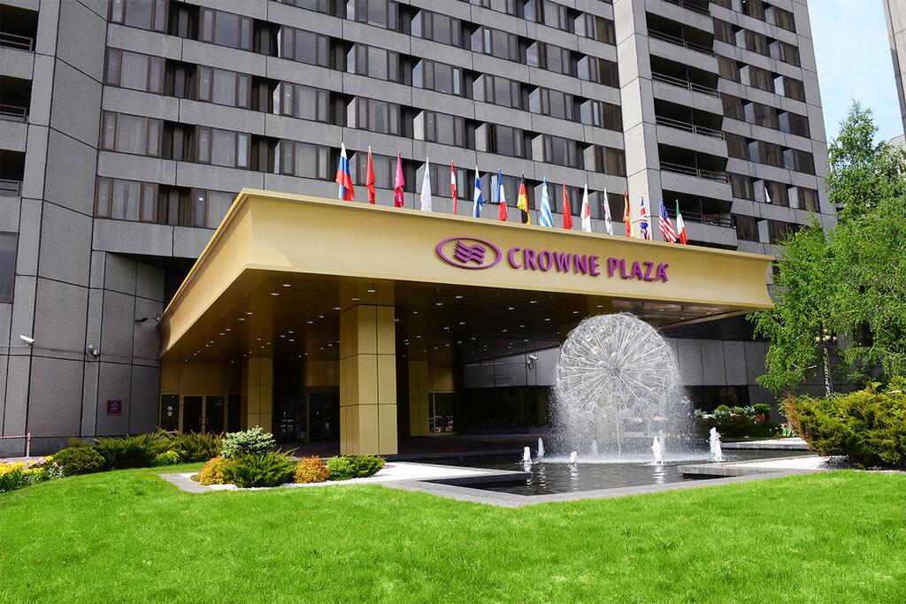 гостиница — Crowne Plaza Moscow - World Trade Centre — Москва, фото №1