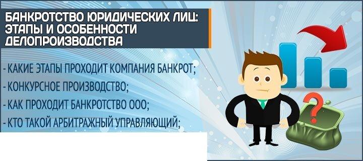 банкротство предприятий в москве