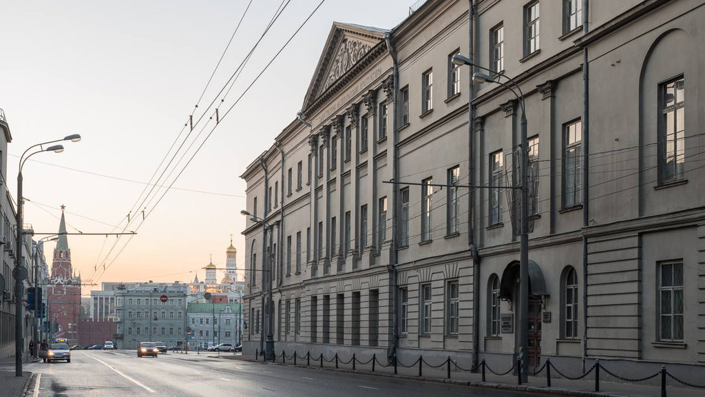 музей — Музей архитектуры им. А.В. Щусева — Москва, фото №3