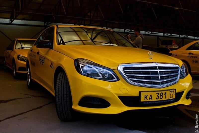 Новое желтое такси - основная фотография