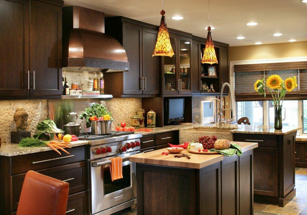 фото кухонных островов макарон своими