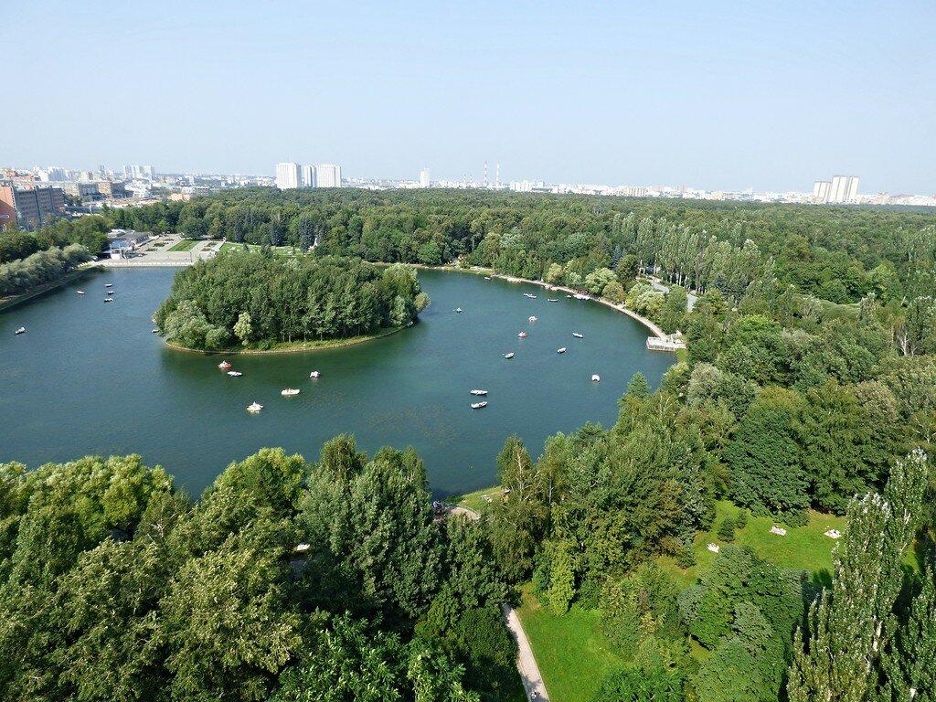 картинка измайловского парка для уток