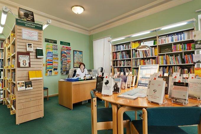 библиотека — Библиотека-читальня им. И. С. Тургенева — Москва, фото №6