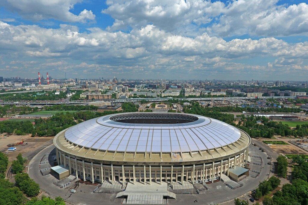 спортивный комплекс — Большая спортивная арена Олимпийского комплекса Лужники — Москва, фото №2