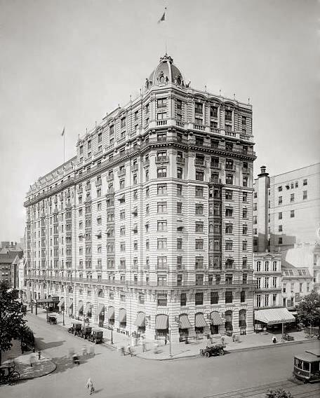 гостиница — Raleigh Hotel — Вашингтон, фото №1