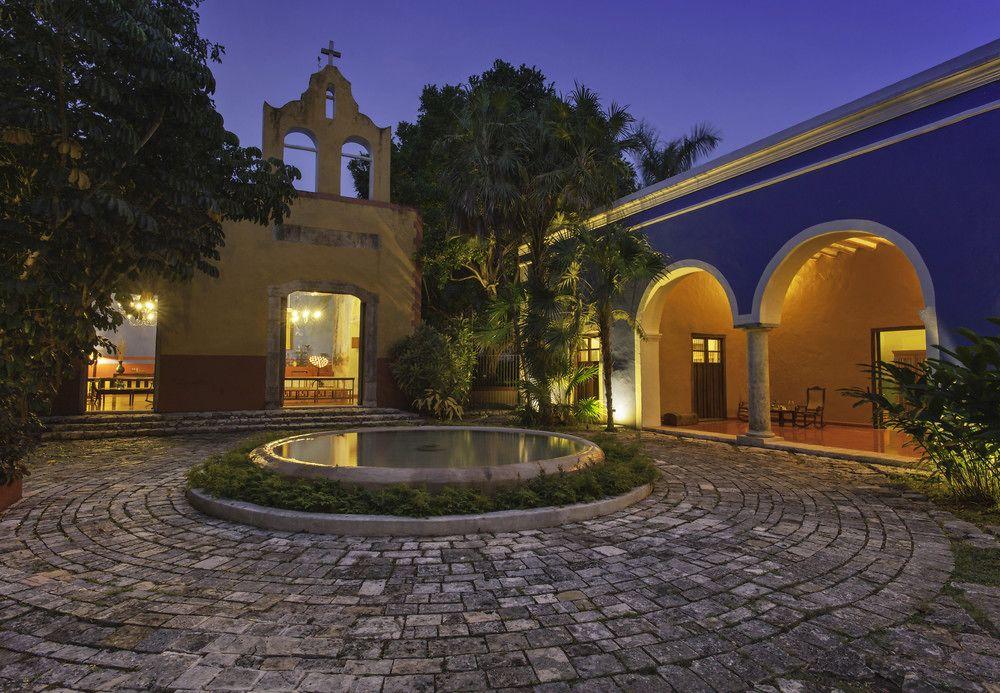 странная хасиенда мексика фото домики