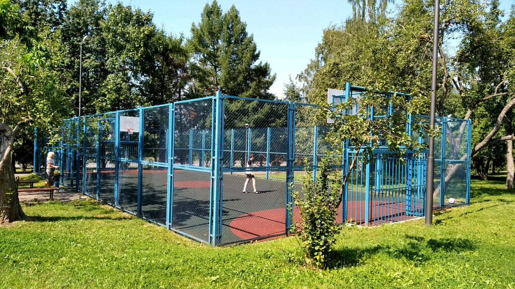 sports activity location — Спортплощадка — Moscow, фото №1