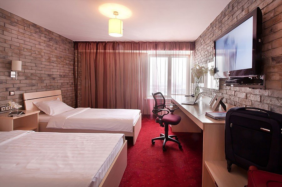 гостиница — Marins Park Hotel — Новосибирск, фото №3