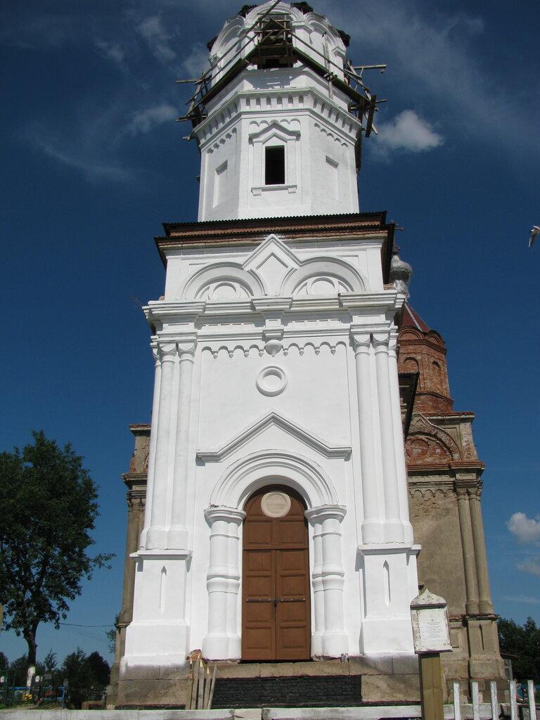 orthodox church — Tserkov Troitsy Zhivonachalnoy V Issade — derevnya Issad, фото №1