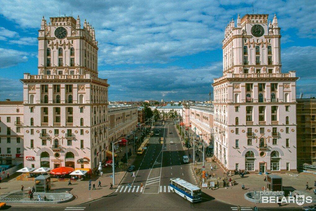 минск фотографии достопримечательностей города такой высокий статный
