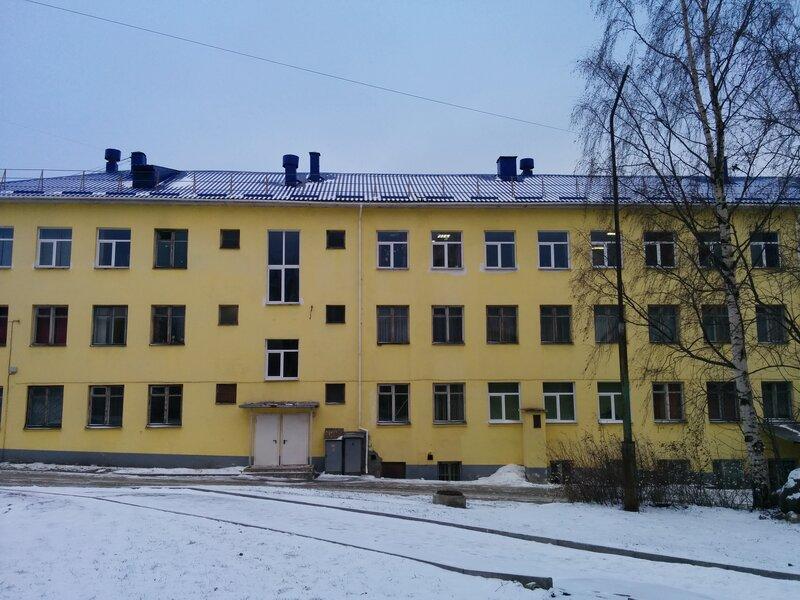 Общежитие Петрозаводского педагогического колледжа