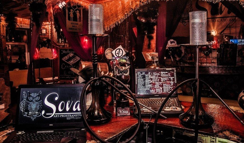 hookah bar — Sova Art Prostranstvo — Saint Petersburg, фото №1