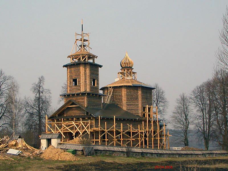 православный храм — Церковь Георгия Победоносца в Ворониче — undefined, фото №10