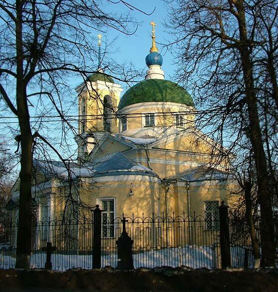 фотография церкви в болшево московской области поделитесь своей