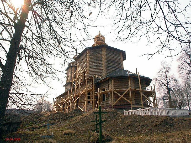 православный храм — Церковь Георгия Победоносца в Ворониче — undefined, фото №8