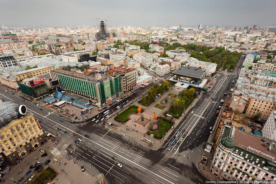 достопримечательность — Пушкинская площадь — Москва, фото №7