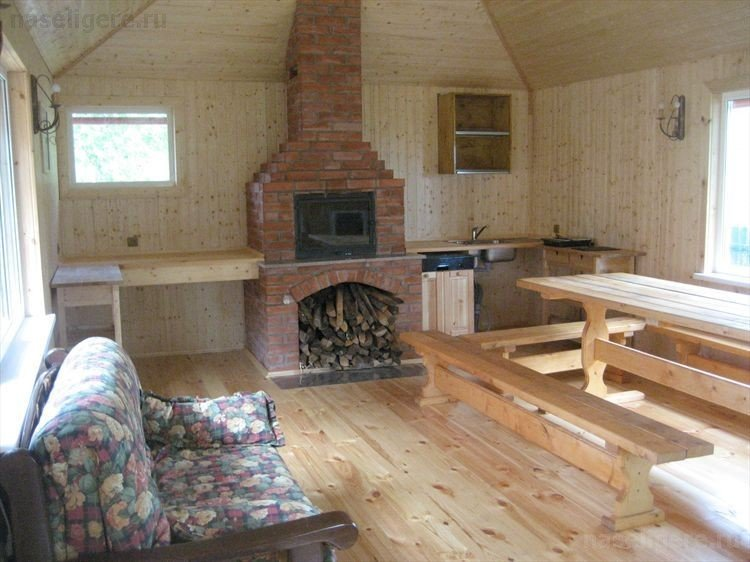 Cottage with sauna on the coast