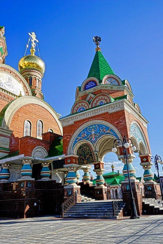 православный храм — Кафедральный собор Благовещения Пресвятой Богородицы — Йошкар-Ола, фото №10