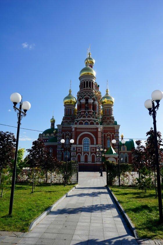 православный храм — Кафедральный собор Благовещения Пресвятой Богородицы — Йошкар-Ола, фото №9