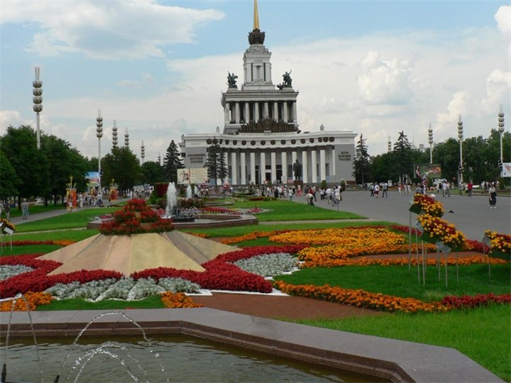 landmark, attraction — VDNKh Main Entrance — Moscow, photo 1