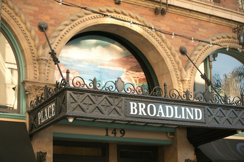 The Historic Broadlind Hotel at Long Beach Convention Center