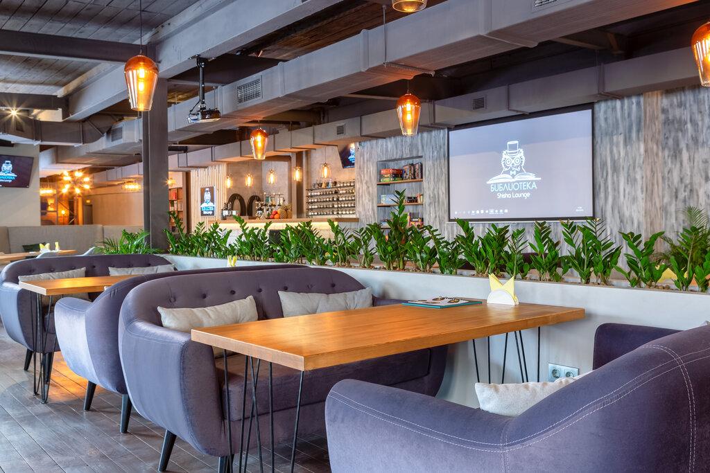 ресторан — БИБЛИОТЕКА Shisha Lounge — Москва, фото №2